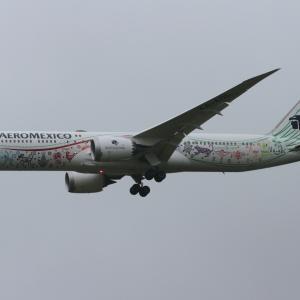 アエロメヒコ航空 ボーイング787-9 Quetzalcoatl special livery
