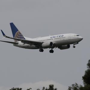 ユナイテッド航空 ボーイング737-400