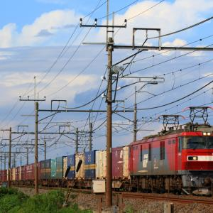 またまた貨物列車を撮影。