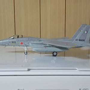 F15戦闘機プラモデル作成