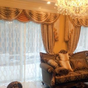 お部屋を劇的に変えるおしゃれなカーテンの上飾り