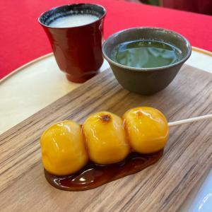 東京大神宮と甘味屋さん