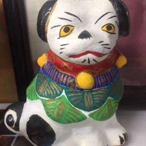 久米土人形の犬