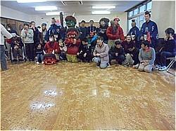 三嶋大社節分祭 福祉施設訪問