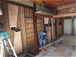 木造耐震補強工事-T邸 制震装置