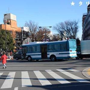 2021/1/22川崎市立田島中学校の登校風景を見守る