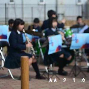 川崎市立川崎総合科学高校吹奏楽部が観梅会で演奏