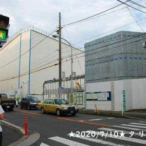 東急新横浜線トンネル出口が見えた(日吉)