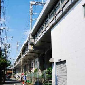 新菊名橋から大倉山へ新幹線高架を追って