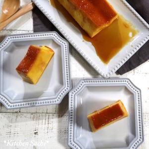 パウンド型で作る!濃厚かぼちゃプリン♡【#簡単レシピ#プリン】