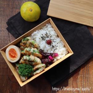 ねぎ塩鶏つくね弁当♡【#お弁当#簡単レシピ】