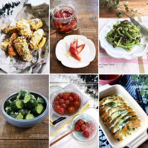 食材1つで作る!夏野菜レシピ10選♡【#簡単レシピ#野菜】