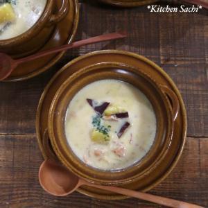 さつまいもとベーコンの豆乳チャウダー♡【#簡単レシピ#スープ】