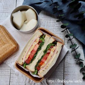 息子の*サンドイッチ弁当♡【#お弁当#サンドイッチ】
