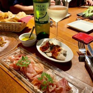 新宿  TOKYO KITCHENでチャコリワイン