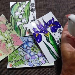 『姉から届いた今月の絵手紙 ~ その② ~』の巻♪