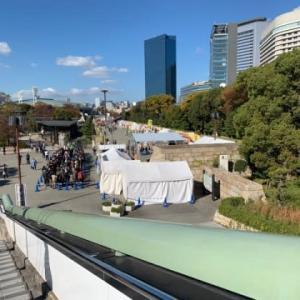 【鯛白湯らーめん〇de▽(まるでさんかく)】 『天然真鯛NEO鯛塩SOBA 全部のせ』 森ちゃんのラーメンフェスタ2019 大阪城公園駅前広場