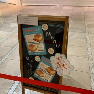【台湾カステラ 澎澎(ポンポン)】 『プレーンのカステラポンポン 生クリームを挟んだ生クリームポンポン』 なんばシティ 大阪市