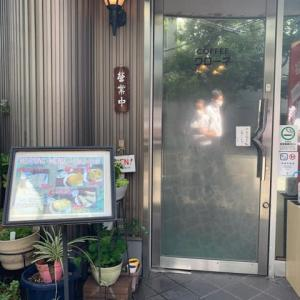 【喫茶 クローネ】 モーニング『チーズトースト アイスコーヒー』 淀屋橋駅の近く 大阪市中央区