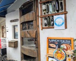 【ボッコカリー / BOCCO CURRY】 ランチ『焼きキーマカレー(トマト&チーズ) あいがけカレー』 岸和田市磯上町