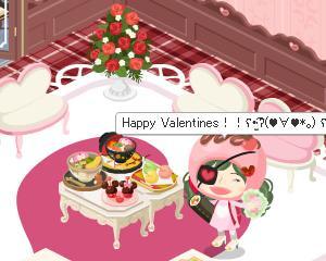 バレンタインがやって来る、「春」を連れて・・(^▽^)/