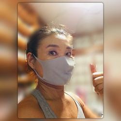 新型コロナ:レッスン中はマスク必須なので
