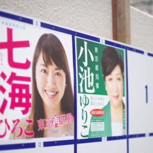 政治屋の時代の終わり・・七海ひろこ東京都知事候補、頑張れ!!