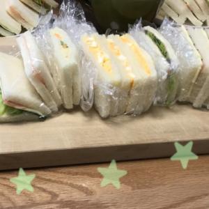 サンドイッチデビュー