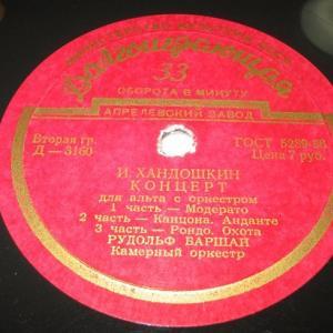 ハンドシキンのヴィオラ協奏曲4