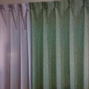秋のカーテン
