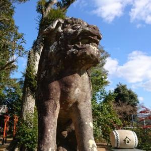 鹿山神社②鹿は21