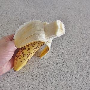 無糖バナナブレッド --- 焼き飯&サーモンサラダ