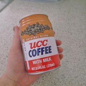 UCC缶コーヒーで命拾い --- 韓国寿司キンパ