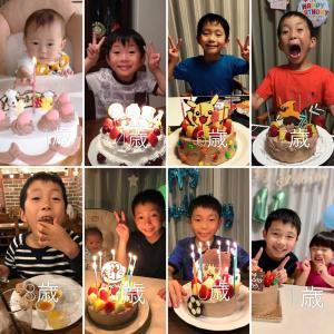 息子の成長と記念日