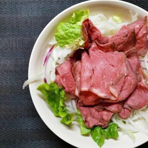 最近のお気に入り☆ローストビーフサラダ