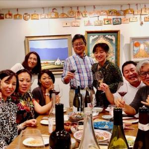 東京情報 802 - Kさん邸 食事会 ( 築地 ) -