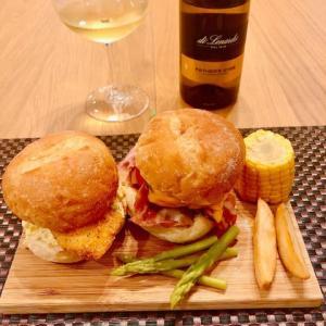 東京情報 963 - Home Cooking 41 Fried Fish & Cheese Hamburger -