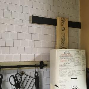 【プチDIY】セリアリメイクシート キッチンの壁その後