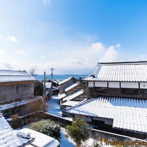 能登での田舎暮らし: 穴水町岩車で今年初の積雪