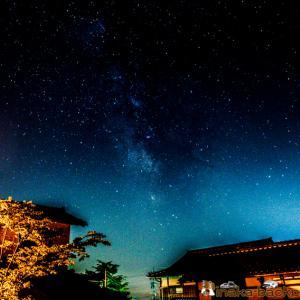 【能登での田舎暮らし】星空の村 天の川の時期到来 能登で運営する車中泊スポットで星空撮影