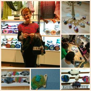 マルティナさんとしあわせを編む魔法の毛糸フェア~最終日