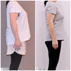 -5kg達成中・ダイエットして痩せても胸が落ちないんですね!