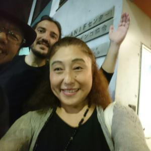 ルイス・ペーニャ東京クルシージョ2019と中野「シオノ」での楽しいディナー