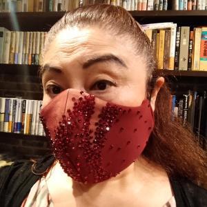 マシュー・キャロン氏デザインのフィギュアスケート衣装マスクが届きました!