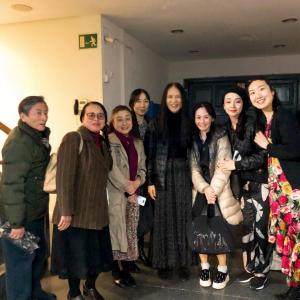 小島章司先生訪問と表参道「CICADA」でのランチ