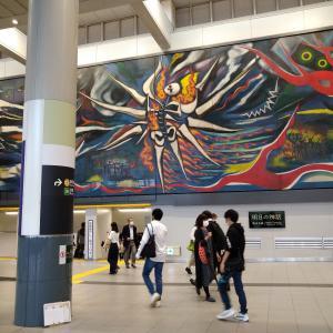 築地「パラディーゾ」のランチと渋谷駅の変貌と今シーズン初のすき焼き