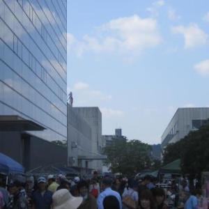 2012年西条酒まつりinサタケ会場にて