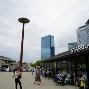 都会のオアシスとしての大阪城公園