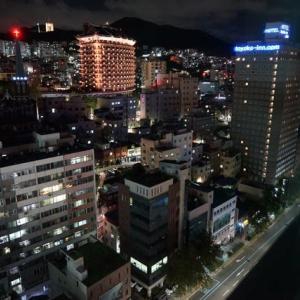 MSCスプレンディダで行く 初秋の長崎・釜山クルーズ 釜山クラウンハーバーホテル