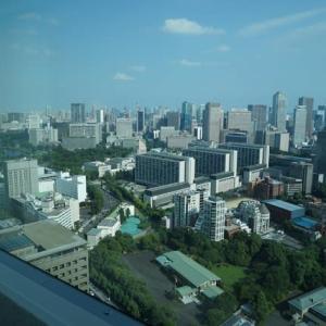 永田町・赤坂が見渡せる部屋にて